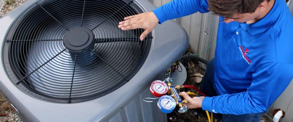 Ellendale HVAC Services - Outdoor unit