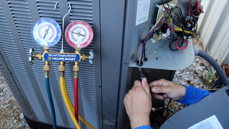 Ellendale HVAC Services - Pressure Gauges
